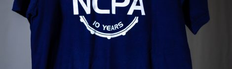 NCPA 10th Anniversary Navy T-Shirt