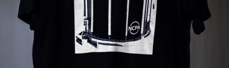 Snare - Black and White T-Shirt